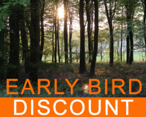 Early Bird Discount for August